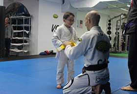 kids in class Mixed Martial Arts
