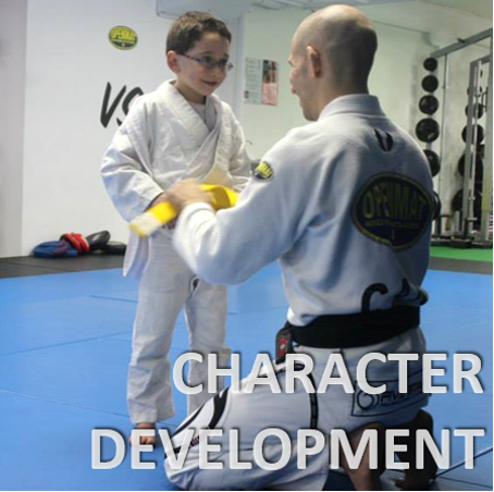 Kids Martial arts develops character