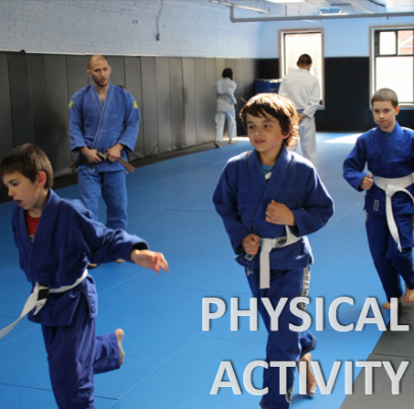 Childrens martial arts is good form of physical activity